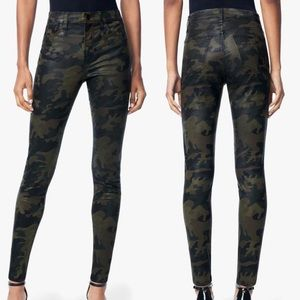 Joes Jeans Charlie High Rise Skinny Ankle Camo